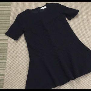 Loft Quilted Dress Medium